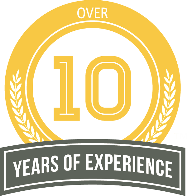 ten years of expreience