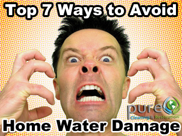 water damage utah, water restoration utah, avoid water damage utah home