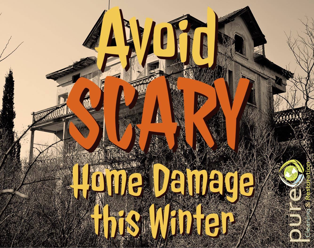 disaster cleanup, damage restoration, prepare for winter