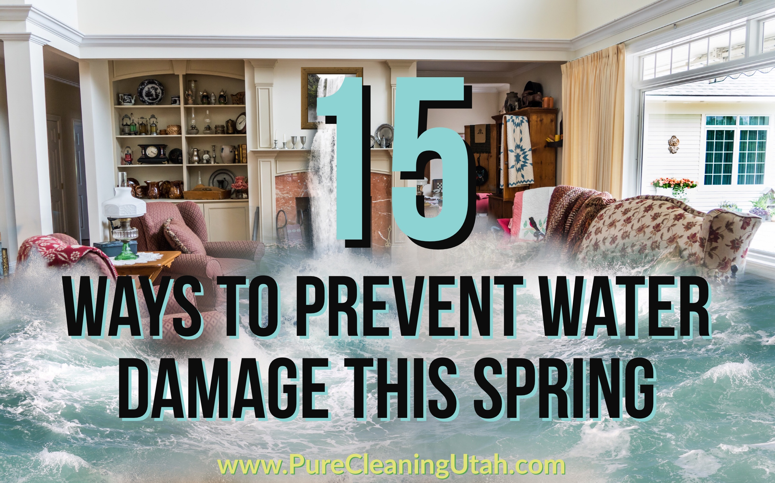 water damage, flood, basement, leak, prevent